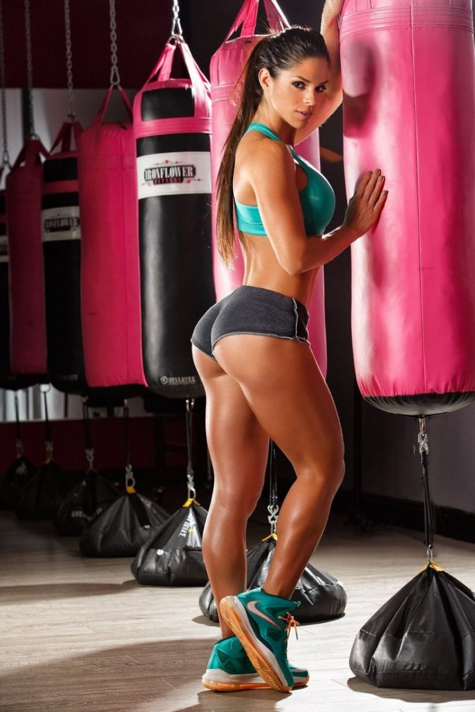 boxing fit girl