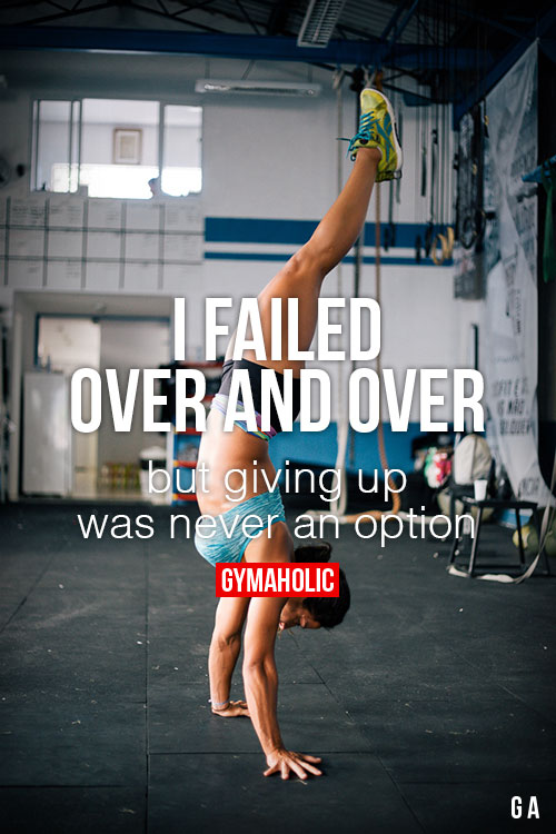 i failed over and over