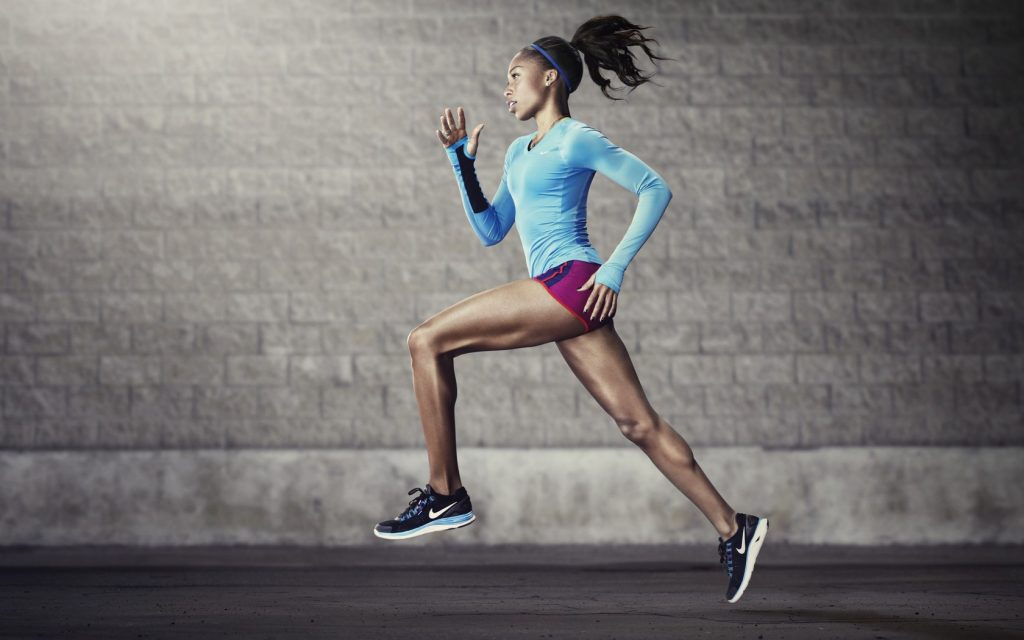 running fitness wallpaper
